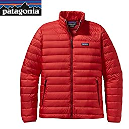 Patagonia Down Sweater Jacket - Men\'s French Red, XL