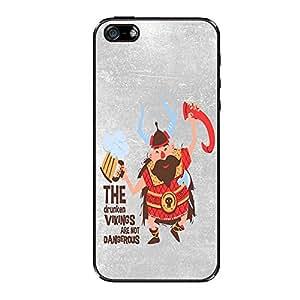Vibhar printed case back cover for Apple iPhone 5s Vikings