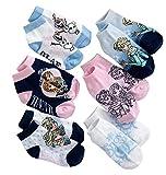 Frozen Anna, Elsa & Olaf 6-pack Low-Cut Socks
