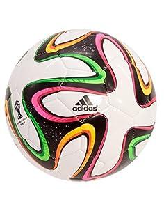Buy Adidas Brazuca Glider Soccer Ball (Multi) Size 4 by adidas