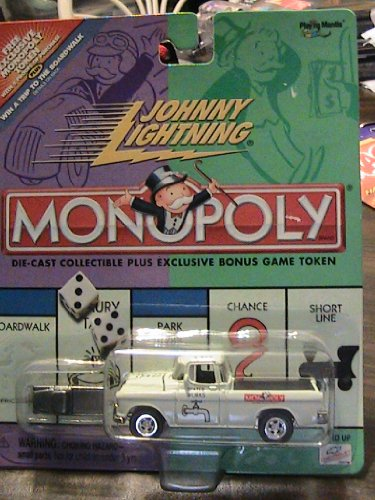 Johnny Lightning Monopoly Water Works White Truck