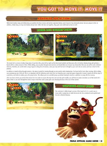 Donkey Kong Country Returns 3D (Prima Official Game Guides)
