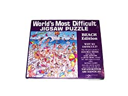 Worlds most difficult jigsaw puszzle - Beach Edition