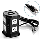 Smart 8-Outlet with 4-USB Output Surge Protection Power Strip (SAFEMORE)