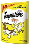 TEMPTATIONS Tasty Chicken Flavor Treats for Cats, 6.3-Ounce Pouches (Pack of 10)