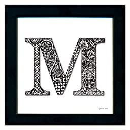 M Monogram Pen & Ink