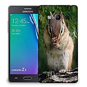Snoogg Squarril Watching Designer Protective Phone Back Case Cover For Samsung Galaxy Tizen T3