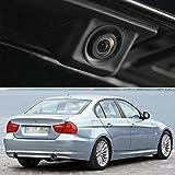 Moertifei Car Trunk Handle Rear View Camera Reverse Parking Backup fit for 2006-2011 BMW 3 Series E90 E91 E92 E93