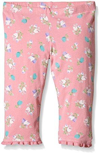 Benetton 3ACQI0005 - Pantalones Niños, Pink (Floral), 11-12 años (Talla del fabricante: EL)