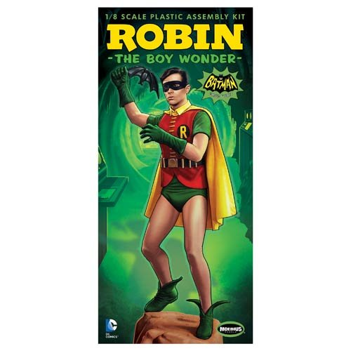 Batman 1966 TV Series Robin 1:8 Scale Model Kit (Boy Models compare prices)