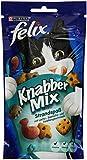 Felix Knabber Mix Katzensnack Strandspaß, 8 Packungen (8 x 60 g)