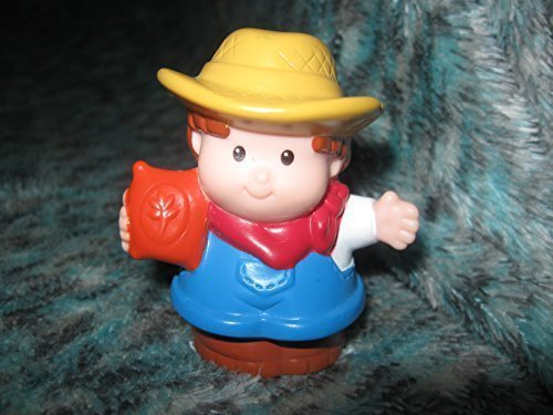 Fisher Price Little People Barn Farm Farmer Jed 2001 Replacement Figure - 1