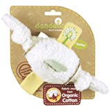Dandelion Organic Toy Rattle, Knots