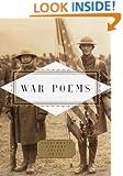 War Poems (Everyman's Library Pocket Poets)
