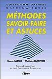 echange, troc Steeve Sarfati, Matthias Fegyvères - Mathématiques : Méthodes, savoir-faire et astuces