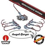 Angel Berger VMC Jigkopf Jighaken Ble...