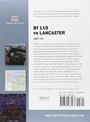 Bf 110 vs Lancaster: 1942-45 (Duel)
