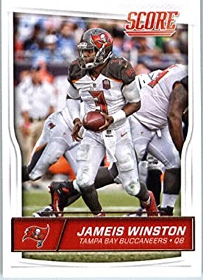 2016 Score #302 Jameis Winston Tampa Bay Buccaneers Football Card