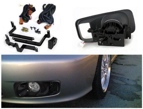 Honda Civic Ex Dx Lx Clear Oem Style Fog Lights, Switch, Relay : Amazon.com