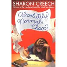 absolutely normal chaos book report Absolutely normal chaos by sharon chreech mary lou finney, who is also a minor character from another book (walk two moons), is just getting out of seventh grade for the summer.
