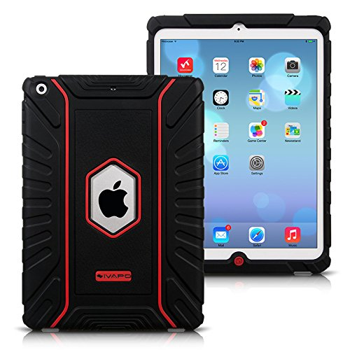 Ivapo Drop Resistance 'Transformers' Design Edition Fashion Gorgeous Cover Case For Ipad Air 5 (Mm443) (Black)