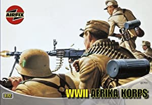 Airfix A01711 WWII Afrika Korps 1:72 Scale Series 1 Plastic Figures