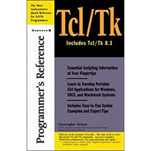 Tcl/Tk Programmer&#39;s Reference