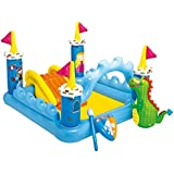 """Intex Fantasy Castle Inflatable Play Center, 73"""" X 60"""" X 42"""", For Ages 2+"""