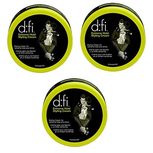 D:Fi Extreme Hold Styling Cream 2.6 oz (Set of 3) (D Fi Hair Cream compare prices)