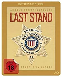The Last Stand - Exklusiv Limited Gold Edition Steelbook - Blu-ray