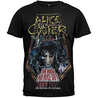 Alice Cooper - No More Mr Nice Guy 2011 Tour T-Shirt