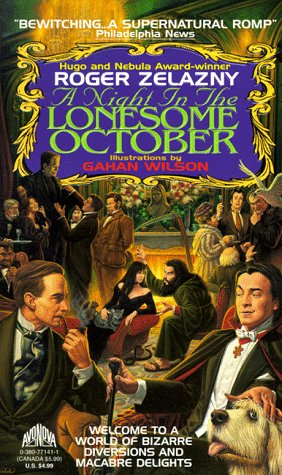 Book A Night in the Lonesome October