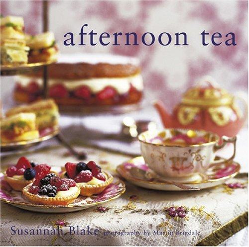 Afternoon tea menu ideas