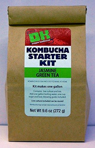 Oregon Kombucha Jasmine Green Tea Basic Starter Kit (Kombucha Tea Starter Kit compare prices)
