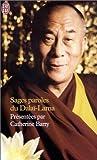 echange, troc Catherine Barry - Sages paroles du Dalaï-Lama