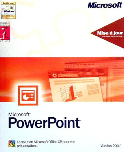 Upgrade Powerpoint 2002 French Upgrade