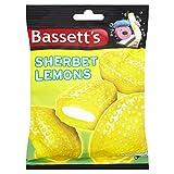 Bassetts Sherbet Lemons Bag 200 g (Pack of 6)