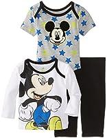 Disney Baby-Boys  Mickey 3 Piece Pant Set