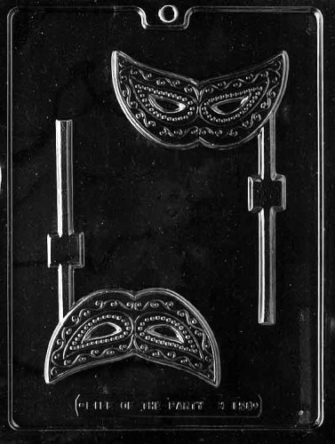 MASK LOLLY Miscellaneous Candy Mold Chocolate