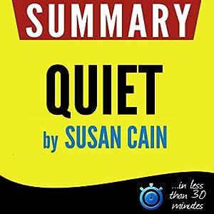 Summary of Quiet | Livre audio