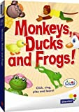 Monkeys, Ducks and Frogs - fun counting CD-ROM from Sherston for ages 3 to 5