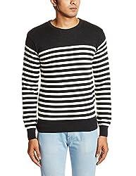 People Men's Cotton Sweater (8903880690359_P10101188005382_X-Large_Anthra Mel)