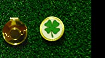 Gatormade Golf Ball Marker & Hat Clip Four Leaf Clover