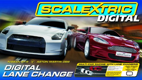 Scalextric C1256 Digital Lane Change 1:32 Scale Digital Race Set
