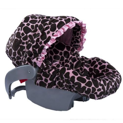 Baby Bella Maya Infant Car Seat Cover Ginny Giraffe