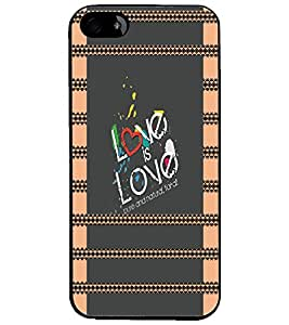 PrintDhaba Quote D-4933 Back Case Cover for APPLE IPHONE 5S (Multi-Coloured)