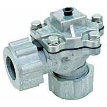 "Dwyer Series RDCV 2"" Remote Coil Diaphragm Valve, NPT Connection, Two Diaphragms, Range 4.4-124.7 psi"