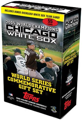 Buy 2005 Chicago White Sox Baseball Cards 55 Card World Series Boxed Gift Set
