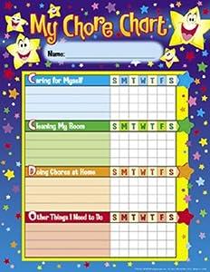 Stars Chore Charts