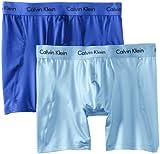 Calvin Klein Men's Two-Pack Microfiber Stretch Boxer Brief
